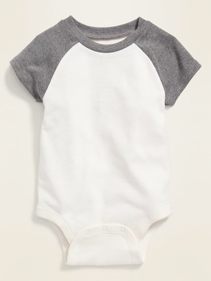Old Navy Raglan-Sleeve Bodysuit for Baby