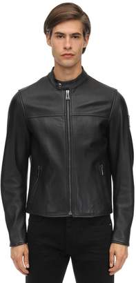 Belstaff Pelham Polished Leather Jacket
