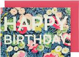 Cath Kidston Winfield Flowers Greetings Card