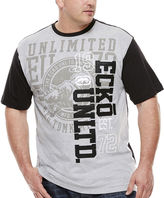 Ecko Unlimited Unltd. Seven Deuce Short-Sleeve Crew Shirt - Big & Tall