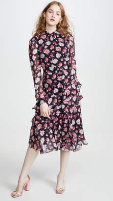 Jason Wu Printed Asymmetrical Dress