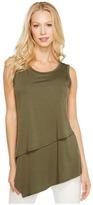 Karen Kane Asymmetric Layer Top Women's Clothing