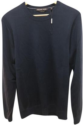 Michael Kors Blue Wool Knitwear & Sweatshirts