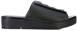 Rick Owens studded sandals
