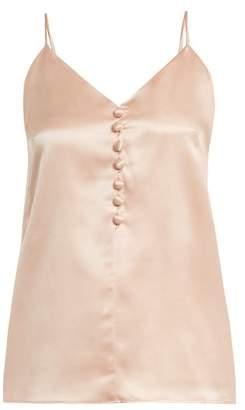 Hillier Bartley V Neck Silk Cami Top - Womens - Light Pink