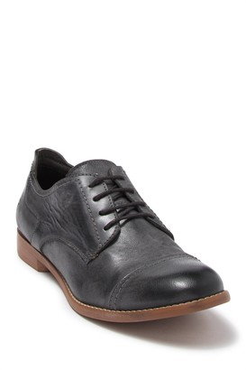 ROAN Thea Leather Cap Toe Derby