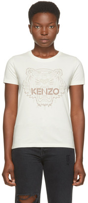 Kenzo Off-White Tiger T-Shirt