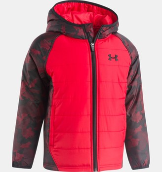 Under Armour Boys' Pre-School UA Utility Werewolf Puffer Jacket
