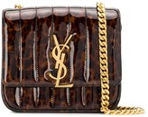 Saint Laurent Vicky tortoiseshell crossbody bag
