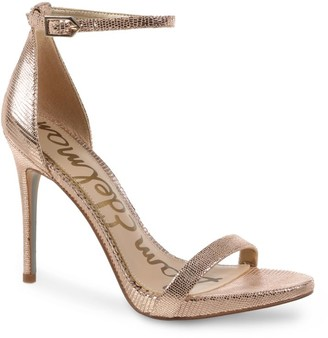 Sam Edelman Ariella Metallic Leather Sandals
