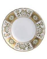 Royal Crown Derby Derby Panel Green Bread & Butter Plate