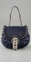 Betsey Johnson Handbags Strap Em Down Flap Shoulder Bag