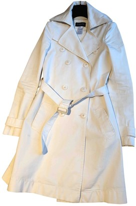 Patrizia Pepe White Cotton Coat for Women