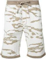 MHI camouflage shorts - men - Cotton - L