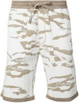 MHI camouflage shorts - men - Cotton - M