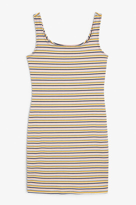 Monki Fitted stretchy dress
