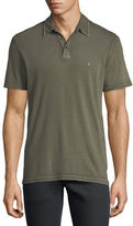 John Varvatos Short-Sleeve Peace Polo Shirt