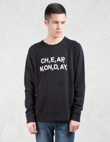 Cheap Monday Rules Chemical Logo Sweatshirt