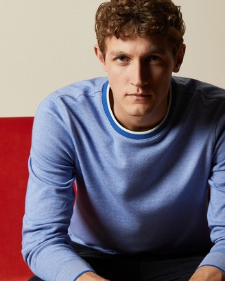 Ted Baker CARRIAG Cotton crew neck jumper