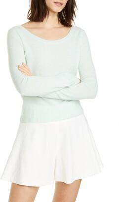 Vince Ballet Neck Cashmere Sweater