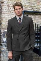 Mens Next Grey Slim Fit Textured Suit: Jacket - Grey