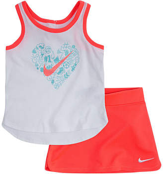 Nike Girls 2-pc. Skirt Set Preschool