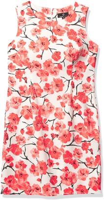 Ronni Nicole Women's Sleevless Floral Sheath Dress