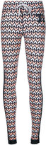 The Upside geometric print track pants - women - Nylon - XXS