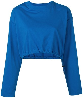 Unravel Project Cropped Sweatshirt