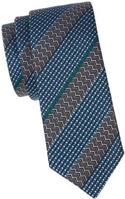 Missoni Geometric Silk Tie