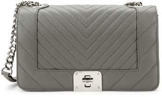 Karl Lagerfeld Paris Lara Quilted Metallic Shoulder Bag