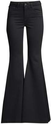 L'Agence Lorde High-Rise Super Flare Jeans