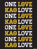 Dormify Kappa Alpha Theta One Love Print