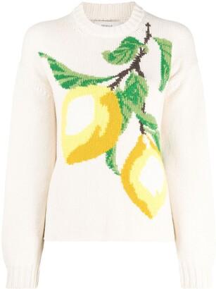 Pringle Lemon Knit Jumper