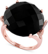 Effy ECLIPSE by Onyx (18-1/5 ct. t.w.) and Diamond (1/6 ct. t.w.) Ring in 14k Gold