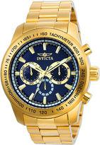 Invicta Mens Gold Tone Bracelet Watch-21797