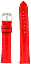 Michele 18mm Leather Watch Strap