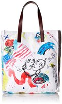 Marc Jacobs Byot Collage Print Ns Tote