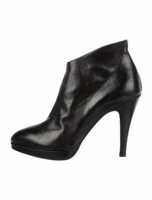 Co Op Co-Op x Barney's New York Leather Boots Black Co-Op x Barney's New York Leather Boots