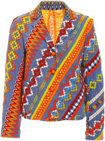 Tory Burch Embroidered Clemente Blazer