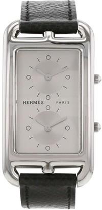 Hermes 2000s pre-owned Cape Cod Nantucket wrist watch