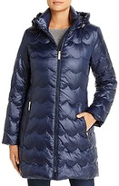 Kate Spade Scallop-Quilted Puffer Coat