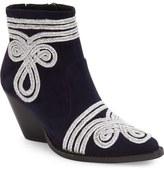 Jeffrey Campbell Galahad Braid Embellished Bootie (Women)