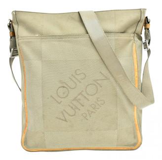 Louis Vuitton Terre Damier Geant Messenger Grey Cloth Bags