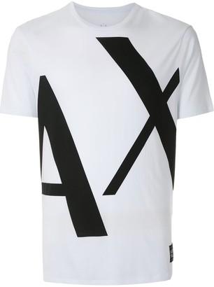 Armani Exchange bold logo T-shirt