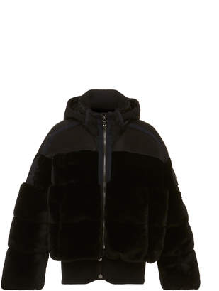 Bogner Sport Duna Faux Fur and Shell Jacket
