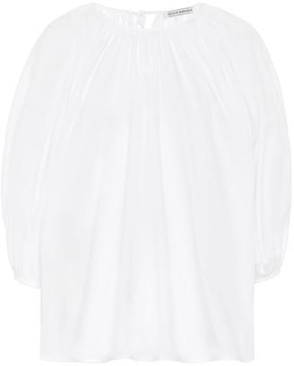Cecilie Bahnsen Astrid cotton-poplin blouse