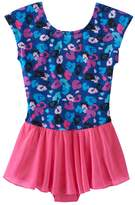 Jacques Moret Girls 4-14 Leopard Skirted Leotard