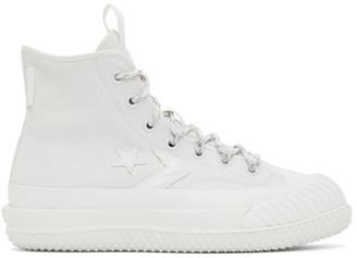 Converse Beige Gore-Tex Bosey MC High Top Sneakers