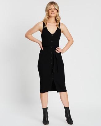 Atmos & Here Julianna Button Knit Dress